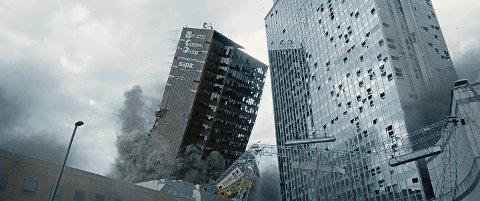 PUBLIKUMSMAGNET: Den norske katastrofefilmen «Skjelvet» trekker folk i hopetall til kinoene.  (Foto: Fantefilm/Norsk Filmdistribusjon)