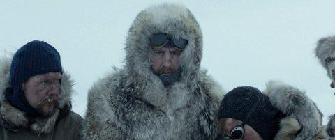 AMUNDSEN: «Amundsen», med Pål Sverre Hagen i hovedrollen som Roald Amundsen, var blant de mest sette filmene på kino i en ellers stille februarmåned. (Foto: Motion Blur/SF Studios)
