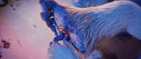 SMALLFOOT: Den avskyelige snømannen får endelig bekreftet at de småføttede skapningene virkelig finnes!