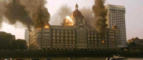VOLDSOMT: Bomber, granater, brann og maskingevær ble brukt av de hjernevaskede muslimske terroristene for å ta livet av flest mulig rikinger på hotellet.