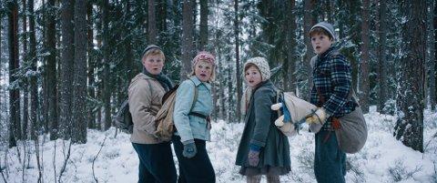 FLUKTEN OVER GRENSEN: Norges første familielangfilm med tema om barn i krig er klar på norske kinoer denne helga.
