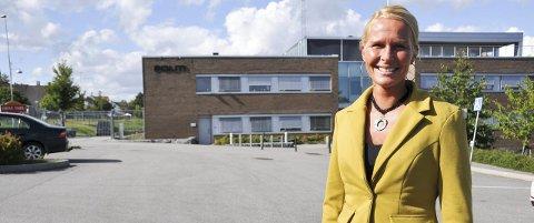GRENLAND POLITISTASJON: Skiensordfører Hedda Foss Five (Ap) mener at hovedsetet til det nye politidistriktet Sør-Øst bør legges hit. foto: ørnulf holen