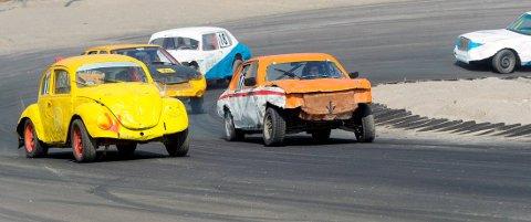 SESONGSTART: Lørdag kjøres det bilcross igjen på Grenland motorsportsenter.
