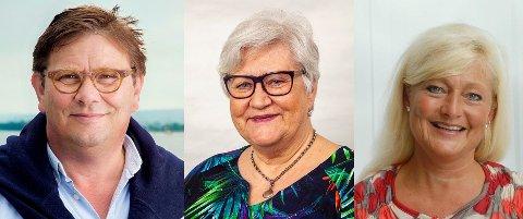 Per Martin Aamodt, Lisbeth Johansen og Anne Rygh Pedersen