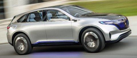 Mercedes EQC er på størrelsen med den norske storselgeren GLC.