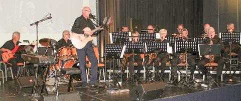 Teletuten kaller seg et «lite storband» fra Sarpsborg, men skal nok få løftet taket i Gressvik kirke med Duke Ellington!