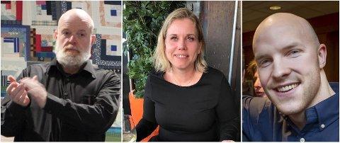 NYE MEDLEMMER: Ole Sverre Spigseth (f.v.), Åshild Melsnes og Joakim Klokkerud Fjeld er nye i Sør-Odal Høyre. De tre er, sammen med fem andre nye medlemmer, på lista til kommunevalget i 2019.