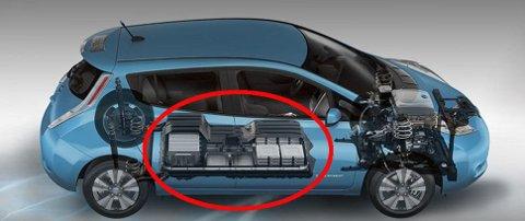 Elbilene har en kraftig motorbrems som i praksis regenererer energien, dermed blir også bremsene mindre brukt.
