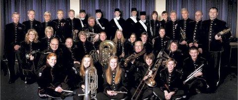 NY TRADISJON: Også Kongsberg byorkester skal delta å konserten og dermed være med på å skape en ny tradisjon under festspillene.
