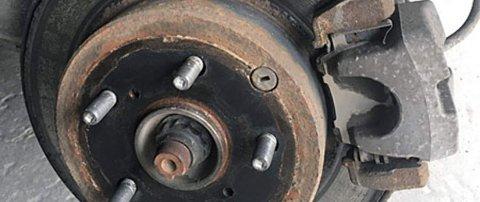 Bremser er fortsatt en gjenganger når det gjelder feil på bruktbil.