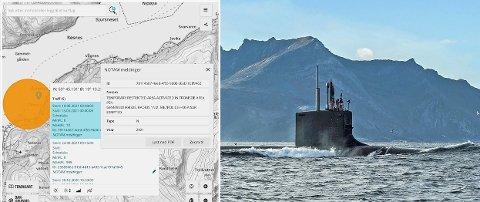 VIRGINIA-KLASSE: Det er en ubåt av Virginia-klassen, lik den som dukket opp utenfor Tromsø i 2016, som nå skal være ventet til Grøtsund.