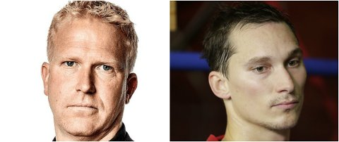 FORSTÅR ELVERUM: Aftonbladets reporter Johan Flinck og hockeyprofil Brede Csizsar støtter Elverums rødt-kort-stunt.