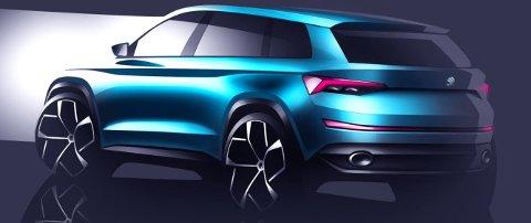 Det er noe Range Rover Evoque-aktig over skissene som vises.