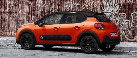 """C3 er en bil for de som liker å kjøre rundt i noe annet enn """"alle andre"""". Her kan du i stor grad spekke bilen med akkurat de fargekombinasjonene du måtte ønske."""