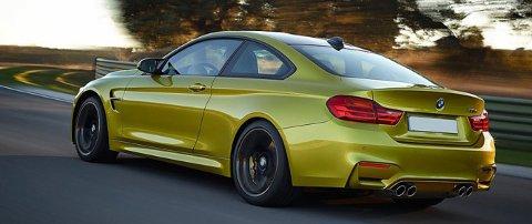 BMW M4 er en av bilene som går mest ned i pris i 2017 - takket være en avgiftslette på solide 124.000 kroner.