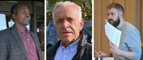 KRITIKK: Senterpartiets Arild Nikolai Ødegaard fikk med seg SVs Ahmed Ali Haruun i kritikk mot posisjonen og ordfører Stian Olafsen (Ap). ARKIV