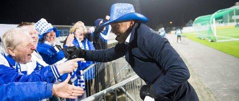Sheriffen i FKH: Hva trekker FKH-trener Mark Dempsey ut av hatten hvis det blir seier i årets første hjemmekamp?