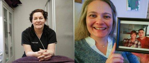 FORTALTE ÅPENT: Trude Didriksen Valle og Jenny Hågensen fortalte begge åpent om det verste de har opplevd i sitt liv. Disse to sakene ble blant de best leste på iFinnmark i januar.