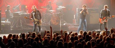 RETUR: 2019 innebærer en retur til Bjørkelangen Sportshall for Bjørkelangen Musikkfestivals del. Her fra DumDum Boys-konserten på denne arenaen i forbindelse med musikkfestivalen i 2010. FOTO: JARLE PEDERSEN