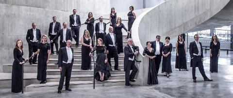 HÄNDELS MESSIAS: Det profesjonelle koret BBC Singers kommer til Moss kirke. (Pressefoto)