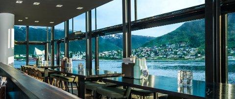 UTSIKT: Restauranten får lokaler i den nye havneterminalen med utsikt mot Ishavskatedralen og Fjellheisen.