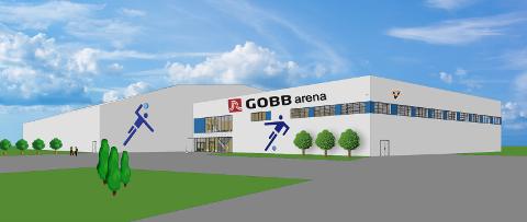 GOBB arena Illustrasjon