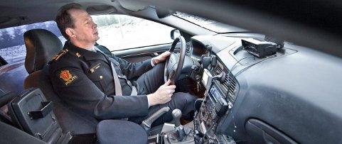 FASIT: – Det er blodprøven som gir svaret på om sjåføren er ruset eller ikke. Spyttprøven gir bare en indikasjon, forklarer UP-sjef Stein-Olaf Røberg.