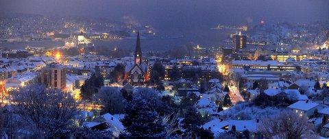Håpet om en hvit jul er ikke helt ute.