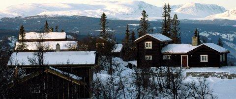 Hytter med vann: Grunneier Olaf Nils Diserud vil bygge hytter med vann, men så langt har kommunen sagt at «dette er et lavstandard område, der vann ikke er tillatt innlagt i hyttene». Illustrasjonsfoto
