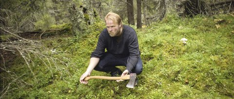 Hoggeren: Anders Baasmo Christiansen i filmen Hoggeren.