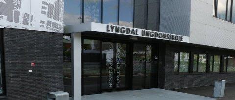 NEDGANG: Elevundersøkelsen forteller at det har vært en nedgang i mobbing på Lyngdal ungdomsskole det siste året.