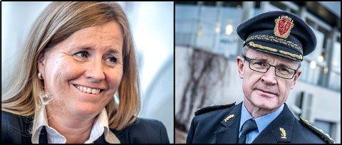 Anne Kristine Linnestad, ordfører i Ski og Arne Jørgen Olafsen, politimester i Follo politidistrikt, mener den sentrale beliggenheten i Follo bør veie  tyngst når Politidirektoratet bestemmer hvor hovedsetet til Øst politidistrikt skal ligge.