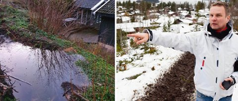 VENTER: – Vi kommer til å gjøre vårt for at vann som alltid har rent gjennom dette området, blir håndtert på en god måte, sier utbygger Reidar Engebretsen.