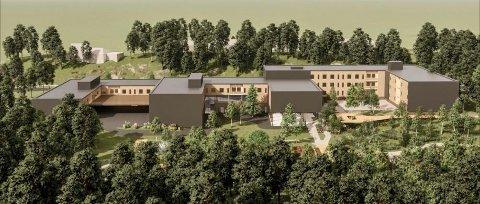 KUNST: Asker kommune har satt i gang et kunstprosjekt for det kommende bo og omsorgssenteret i Filtvet.