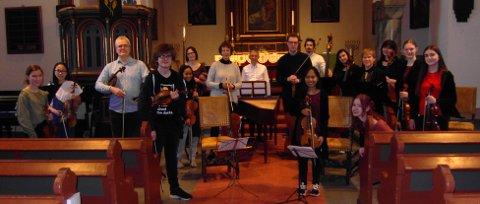KONSERT: Søndag blir konsert i Sandefjord kirke.