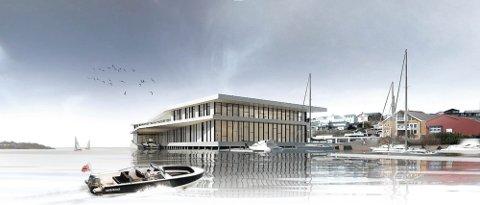 Det er dette bygget som det skal gjøres plass til på Bruket.