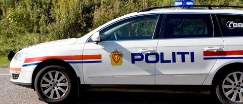 VENTET: Da promillekjøreren kom hjem og fikk parkert bilen sin, så han at politiet ventet på han.