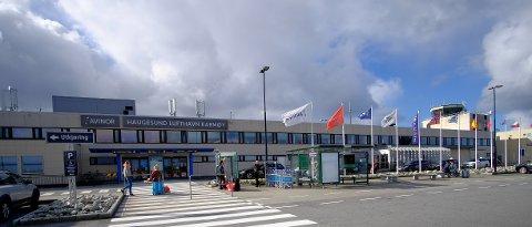 Streikefare henger over flyplassen.