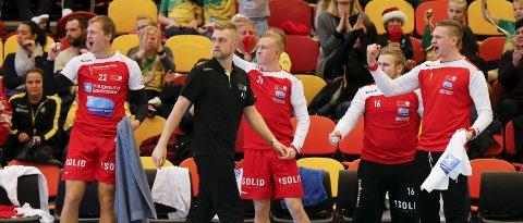 BERGET PLASSEN: HHK og Andreas Justesen hadde sikret plassen i neste års 1. divisjon allerede før avslutningsrunden. ARKIVFOTO: ALF-ROBERT SOMMERBAKK