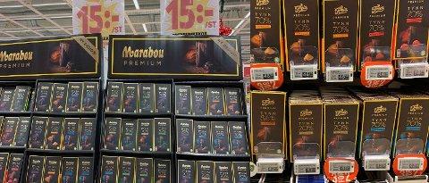 Hypermat og Meny har begge tilbud på Premium-sjokolade.