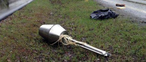 PRIVAT PRODUKSJON: Fredag morgen beslagla politiet et lignende apparat til dette i Kragerøskjærgården. Politiet bekrefter at de gjør slike beslag fra tid om annen.