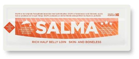 Det er påvist bakterien listeria monocytogenes på SALMA halvloin. Foto: (Bremnes Seashore AS)