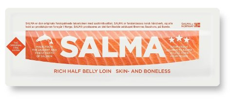 Det er påvist bakterien listeria monocytogenes på SALMA halvloin.
