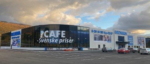 Biltema vil flytte 150 meter og bygge et større varehus med kafétilbud på Slitu.