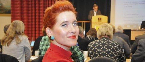 Sikrer seljord: Charlotte Sætersdal Therkelsen fra partiet Rødt, sikrer den videregående skolen i Seljord for de kommende fire årene. Dermed er skolen sikret ut perioden.