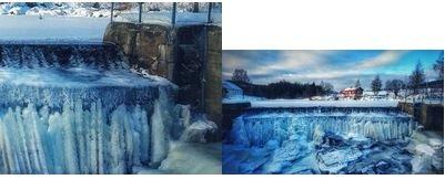 BILDE-QUIZ: Klarte du denne? Bilde fra dammen ved Hakadals verk var en av oppgavene i Varingens bilde-quiz.