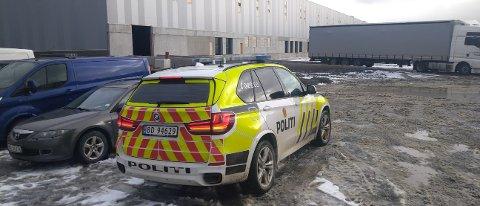 Mandag morgen er politiet i Toveien i Vestby for å sikre spor etter helgens innbrudd.