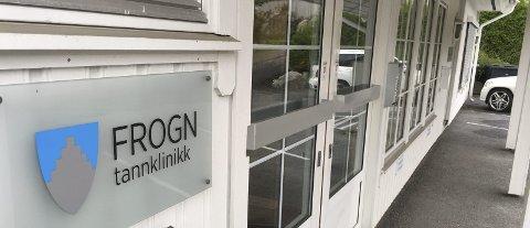 STENGES: Fra årsskiftet av stenger skoletannlegen i Frogn døra for siste gang her i Dyrløkkeveien. Foto: Pål Brikt Olsen