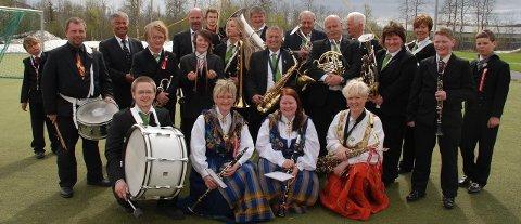 Bjerkvik musikkorps inviterer til mørketidskonsert tirsdag kveld.