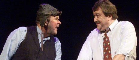 MINNER: Slik husker vi dem: Arthur Arntzen og Tore Skoglund var drømmeteam på scenen.